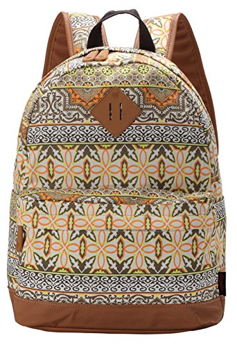 Full Sized Canvas Backpack - 8