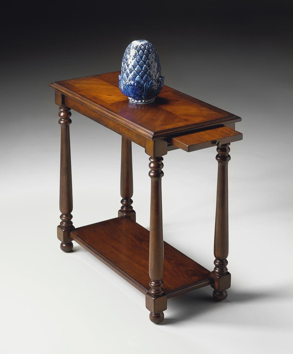 Amazon.com: WOYBR 5017024 Plantation Cherry Chairside Table: Kitchen U0026  Dining