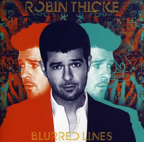 CD : Robin Thicke - Blurred Lines (Asia - Import)
