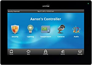 Leviton 99A00-2 OmniTouch 7 Color Touchscreen, Black