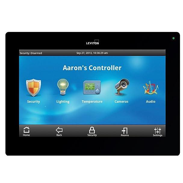 Amazon.com: Leviton 99A00-2 OmniTouch 7 Color Touchscreen, Black ...