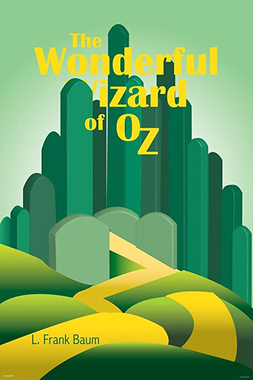 The Wizard of Oz Emerald City Travel Advertisement Poster