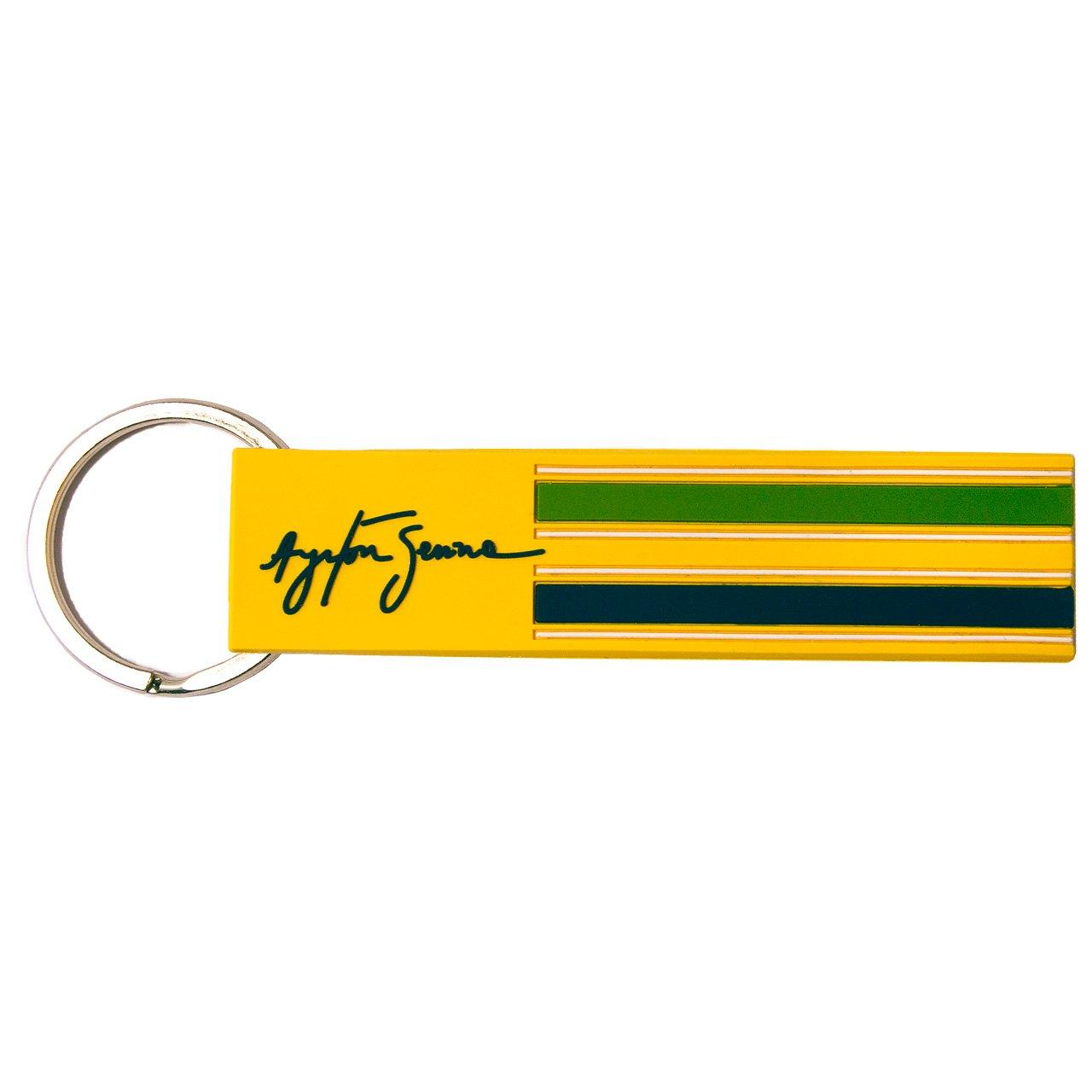 MBA-SPORT Ayrton Senna Schlüsselanhänger Loop Helm