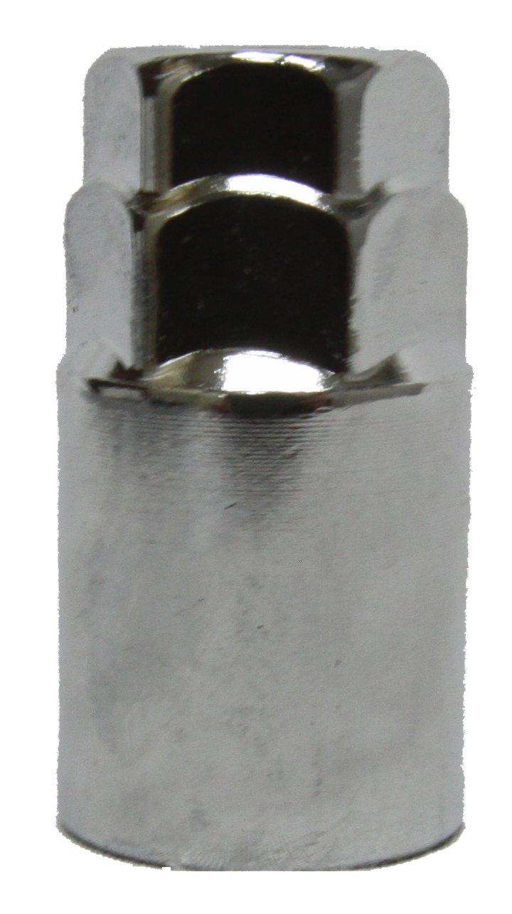 Set of 20 MUTEKI 32925SP SR35 Series Silver 12mm x 1.25 Thread Size Closed End Lug Nut,