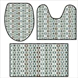 qianhehome Toilet Cushion Suit Card Suits Hearts Spades Diamonds Clubs Pattern Gaming s Addiction .in Bathroom Accessories 16.9''x15.7''-23.6''x23.6''-31''x23.6''