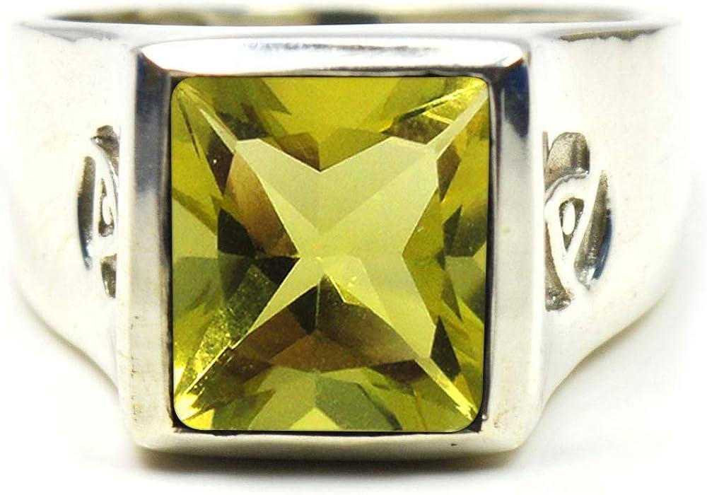 Elige el color de tu anillo de plata de ley con piedra de nacimiento y gema auténtica, estilo engastado, fabricado a mano, tallas de la 6 a la 30