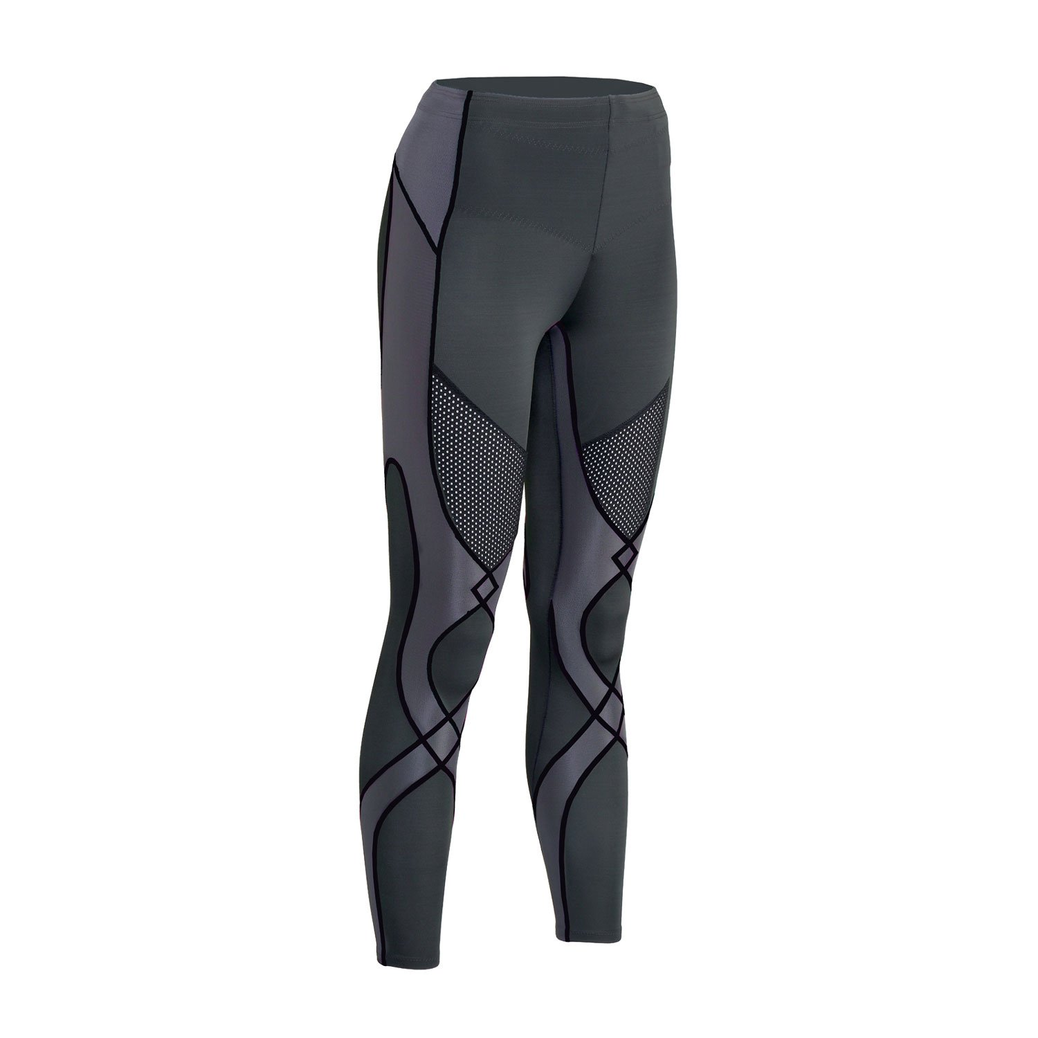 CW-X Women's Mid Rise Full Length Stabilyx Ventilator Cooling Compression Tights 127809-085-P