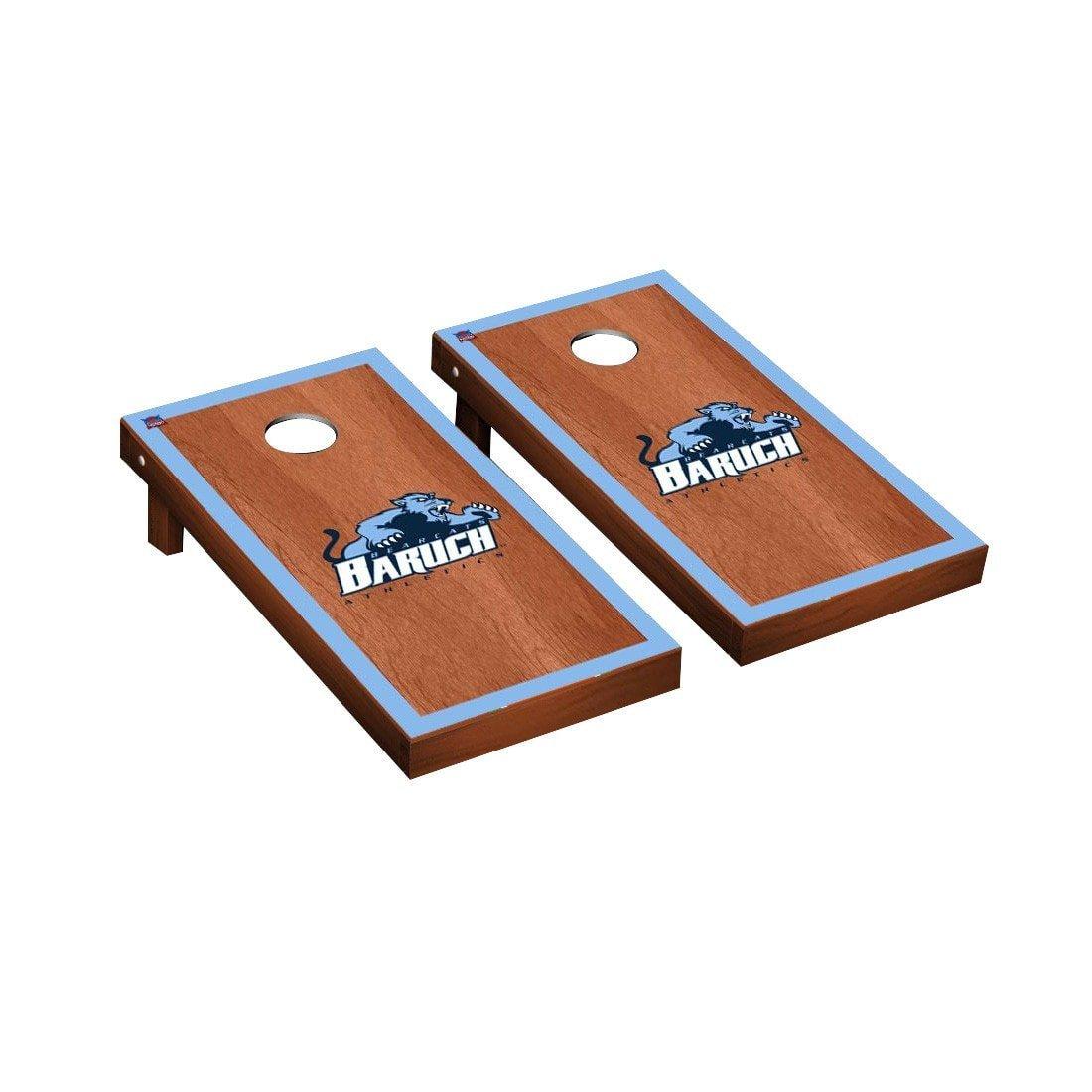 交換無料! Baruch College Bearcats Cornhole Cornhole Baruch Game Set B0178MPWZK ローズウッド染色ボーダーバージョン College ローズウッド染色ボーダーバージョン, 【在庫限り】:4b61ec3f --- arianechie.dominiotemporario.com