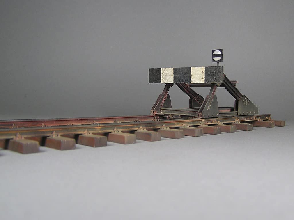 European Gauge Miniart 35568 Railway Track /& Dead End Plastic Model Kit 1//35