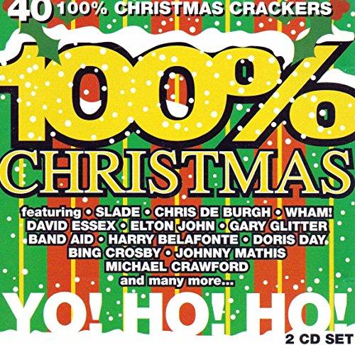 100% Christmas [2 CD Set ~ 40 track 100% Christmas Crackers] by Telstar