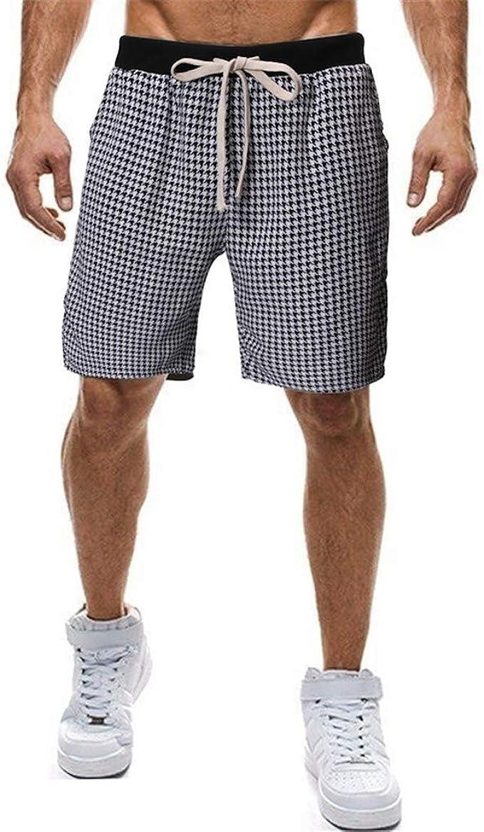 OPAKY Hombres Verano Corto Deportes Hommes Pantalones Pantalones Cortos Tabla de Skate Harem Moda Casual Hombre Bermudas Bañadores de Natación Pantalones Cortos Baño Bóxers Playa Shorts: Amazon.es: Ropa y accesorios