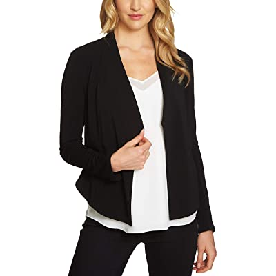 1.STATE $99 Womens New 1070 Black Open Cardigan Long Sleeve Top S B+B at Women's Clothing store