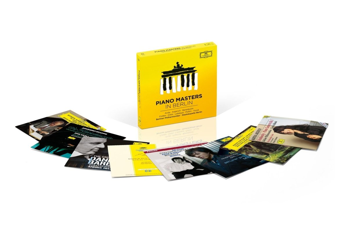 CD : Various Artists - Piano Masters In Berlin - Great Concertos (Boxed Set, 8PC)