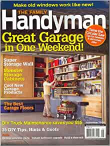 Family handyman september 2008 issue editors of family for Family handyman phone number
