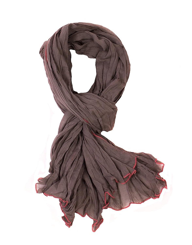 Intown Fashion Damen Sommerkleid, gewebt, Hals und Kopfstück Schal