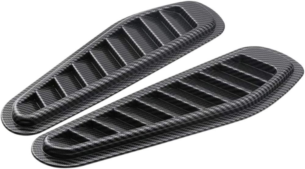 Almencla ABS Carcasa De Fibra De Carbono Asiento Del Motor Rejilla De Ventilación Parrilla Juego De Tapa De La Pala Con Rejilla