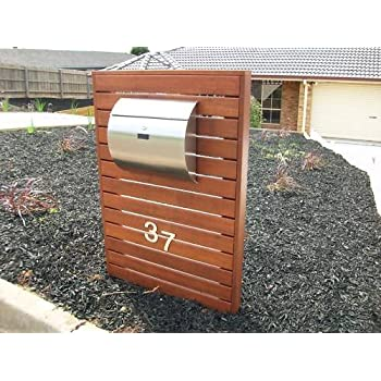 Mpb1402 Semi Curve Lockable Mailboxes Stainless Steel Mail