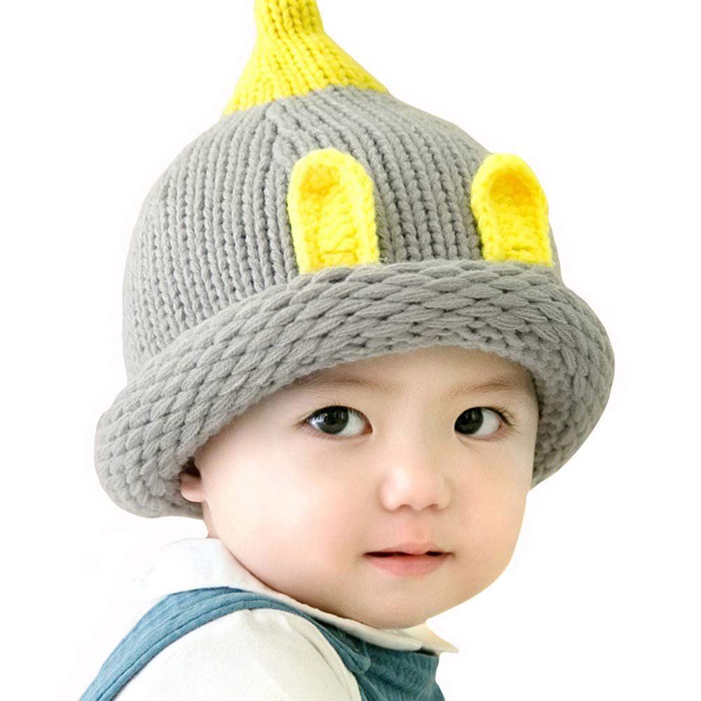 Kacota Winter Knitted Baby Hats Caps Cute Warm Skull Beanies for Boys Girls 6-24 Months