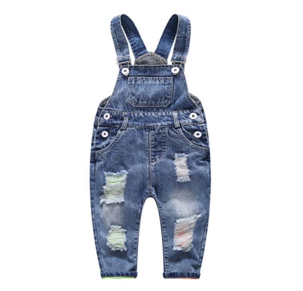 Casual Washing Bibs Fashion Baby Kids Bodysuit Jumpsuit