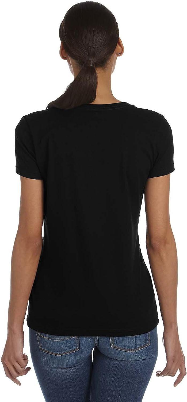 Amazon.com: Indica Plateau Womens Ligma Blank V-Neck T-Shirt ...