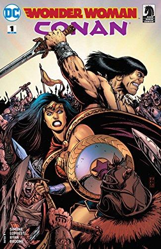 Wonder Woman/Conan (2017) #1 VF/NM Darick Robertson Cover DC Dark Horse Comics