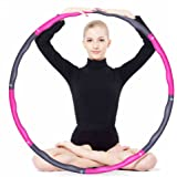 KXCFCYS Foam Fitness Exercise Hula Hoop, lose weight, make thin waist, fitness exercise, Aerobic exercise, 6/7/8 sections parts assembled Hula Hoop