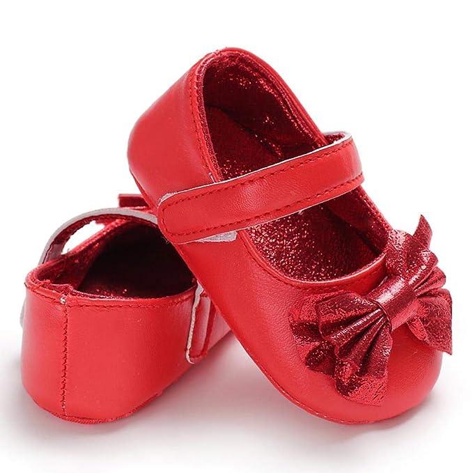 Newborn Baby Girl Soft Sole Cloth Crib Shoes Anti-slip Sneaker Prewalker 0-18M