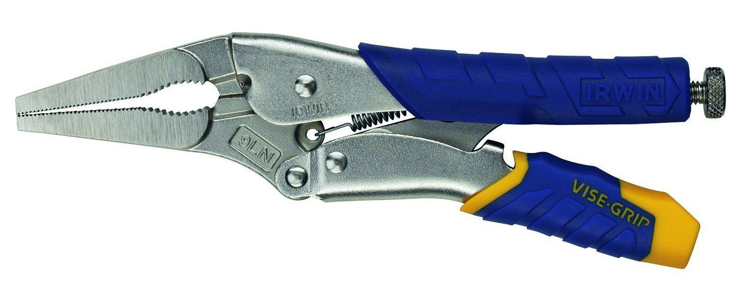 Irwin Visegrip T14T Fast Release Long Nose Locking Plier