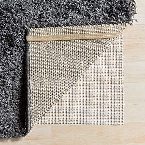 ITSOFT Non Slip Area Rug Pad Carpet Underlay Mat on Hard Floor Runner Extra Strong Grip, 5 x 8 Feet (Underlay Rug Carpet For)