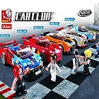 Sluban Racing Blocks Bricks Toy - 5 PCS Racing Set