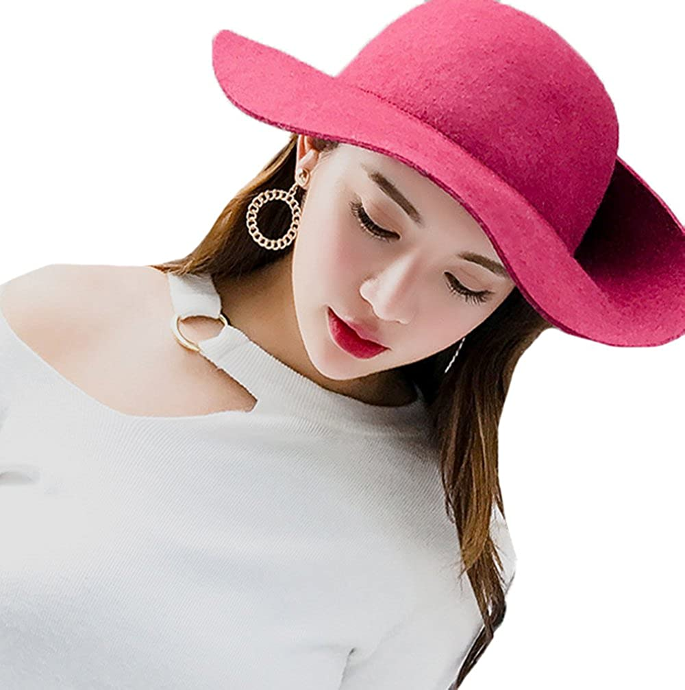 ZEHAT New Rose Flanging Bow Leisure Painter Hat Warm Women Cap Outdoor Winter Hats Fashion accessories Fisherman Hat