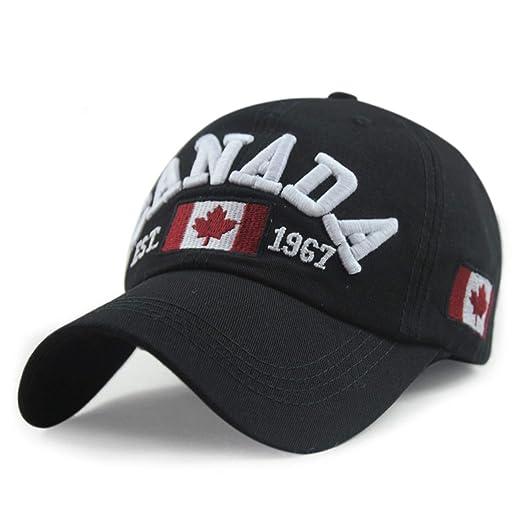 Eric Carl Cotton Gorras Canada Baseball Cap Flag of Canada Hat Snapback Adjuatable Mens Baseball Caps