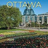 Ottawa 2020 7 x 7 Inch Monthly Mini Wall Calendar, Canadian Regional Travel Canada