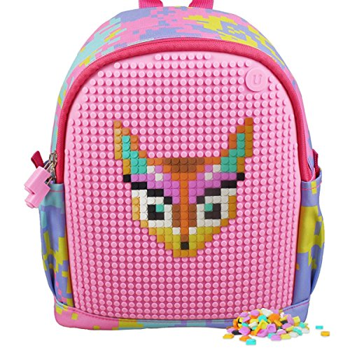 Upixel Dream High Backpack – DIY Pixel Art – Kid's School Bag – Multi - Pack Diy Back
