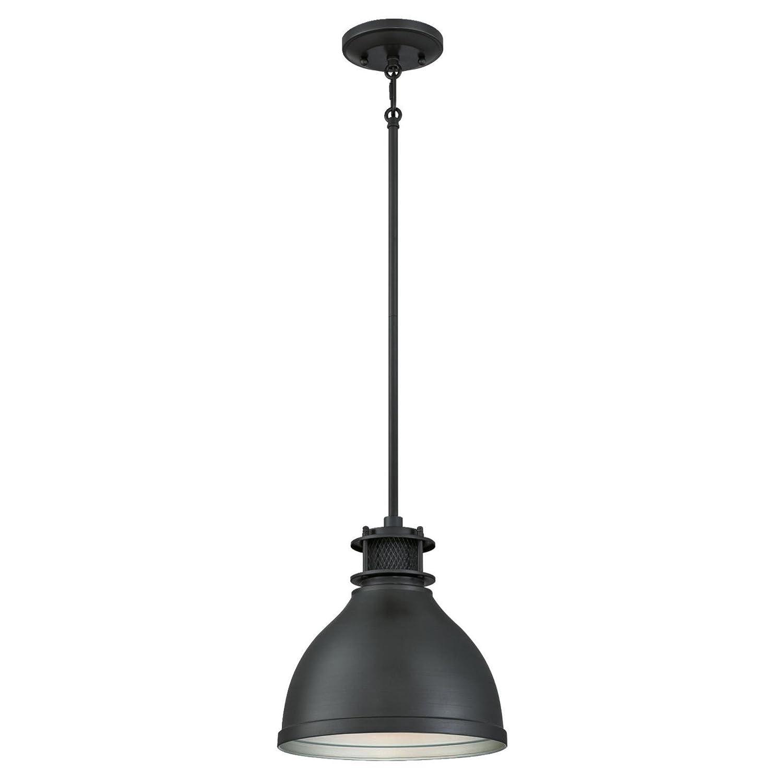 Westinghouse Lighting 6326800 One-Light Indoor Pendant, Matte Brushed Gun Metal Finish with Mesh Detail, Gunmetal