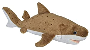 Wild Republic Sand Shark Plush, Stuffed Animal, Plush Toy, Gifts for Kids, Cuddlekins 13 inches