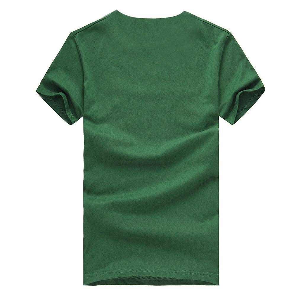 Longzjhd Herren Stylisch Weihnachten T-Shirts Weihnachts-Shirt Fun Shirt Mit Rundhalsausschnitt Ugly Rundhals Sweatshirt Party T-Shirt Slim Fit 3D Druck Herbst Oberteile