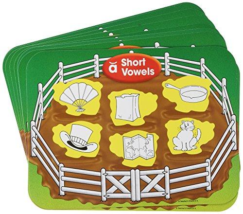 Scholastic 9780545302074 Short Vowels Mats ()
