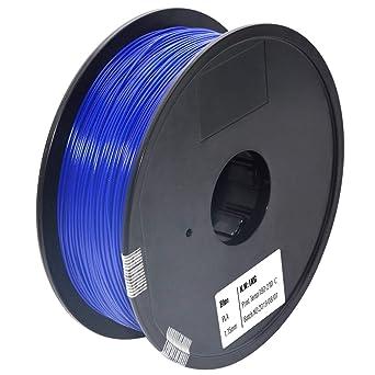 Dimensional Accuracy +//- 0.03 mm HATCHBOX PLA 3D Printer Filament 1 kg Spool 1.75 mm Silver