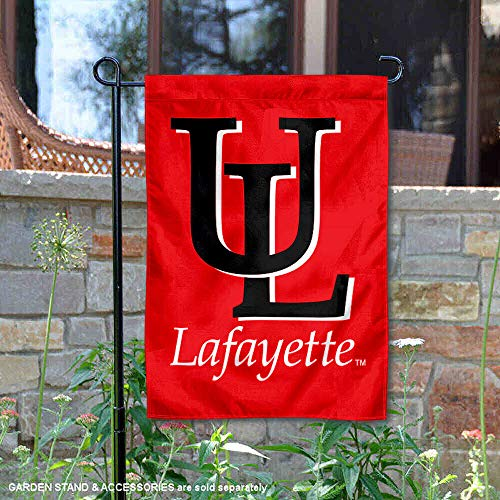 Louisiana Lafayette Ragin Cajuns Garden Flag and Yard Banner (Hanging Outdoor Lafayette)