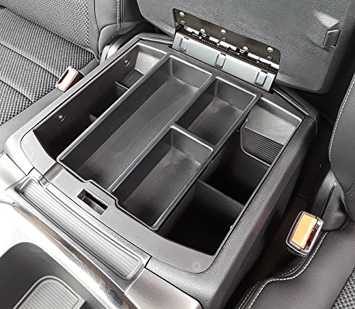 Full Console w//Bucket Seats ONLY Vehicle OCD - Made in USA Salex Organizers SLX131 2009-18 and RAM 2500//3500 Lower Center Console Organizer Tray for Dodge RAM 1500 2010-19