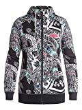 Roxy Womens Frost Printed Hoody Zip Sweatshirt