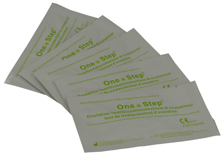 15 x Ovulation Test Strips - One Step Ultra Sensitive 20mIU Fertility Tests AIDE/EGENS
