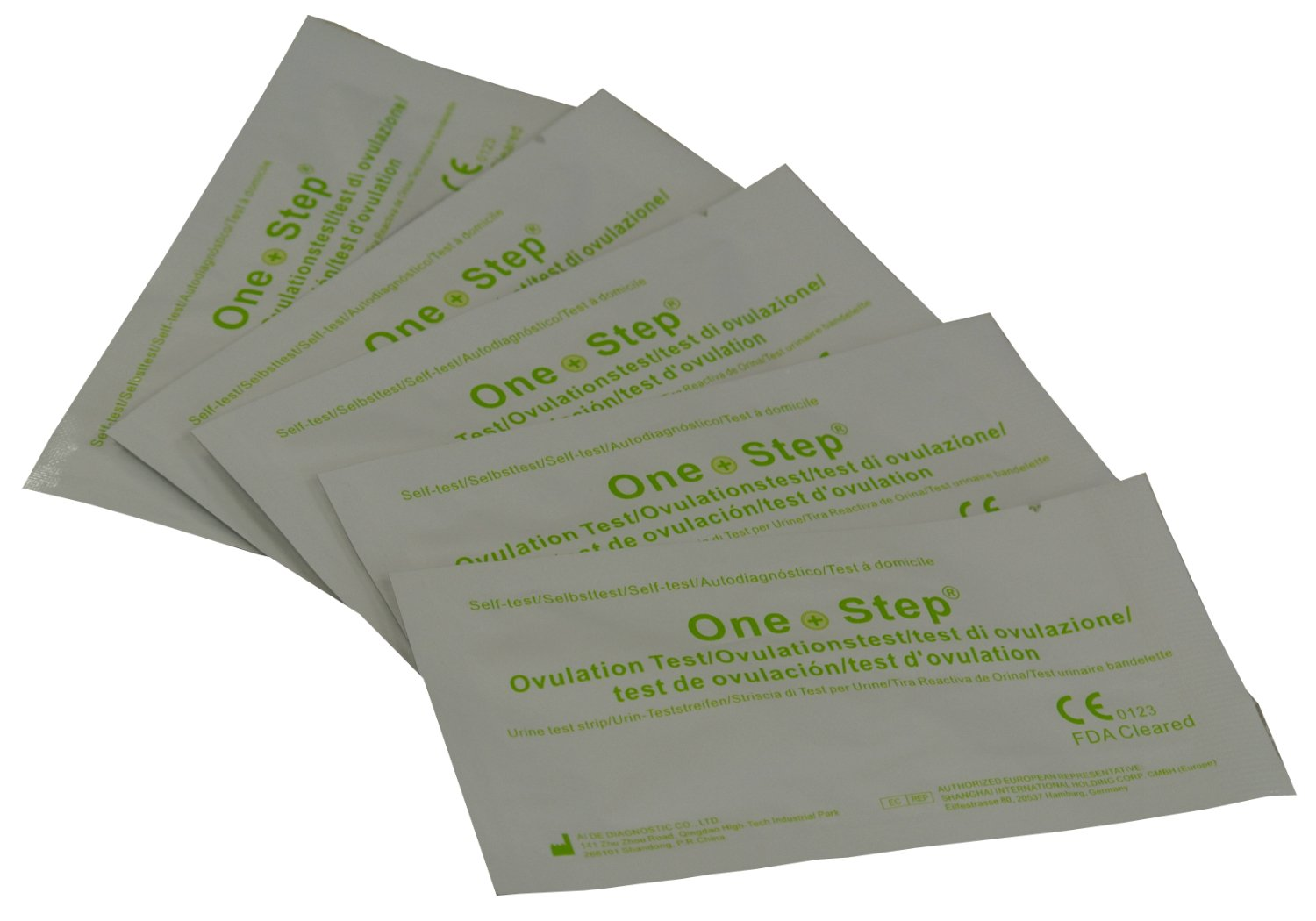 10 x Ovulation Test Strips - One Step 20mIU ULTRA Sensitive Fertility Tests
