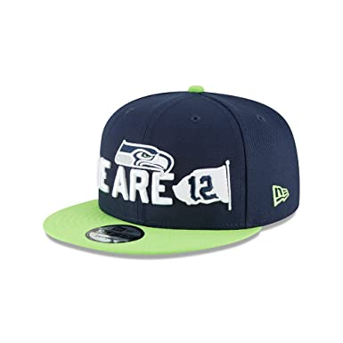 New Era - Seattle Seahawks - New Era 9fifty Snapback - Nfl 2018 Draft -  Spotlight - Navy   Green - One-Size  Amazon.de  Bekleidung bb8b1c3f4