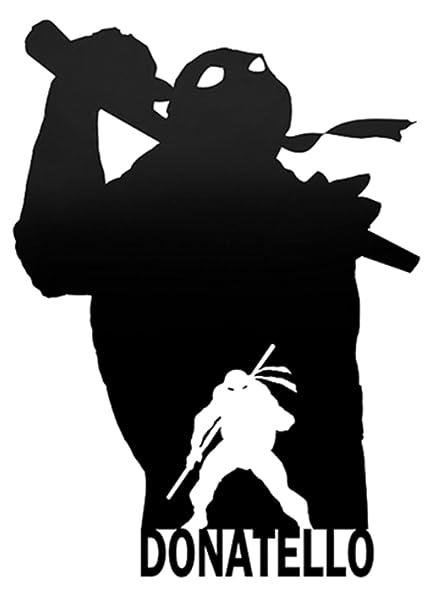 Amazon.com: TMNT DONATELLO SILHOUETTE TEENAGE MUTANT NINJA ...