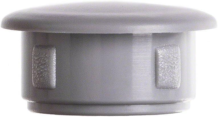 10 pcs bouchons pour trous de fixation 13x9 gris Capuchon plastique bouchons dobturation