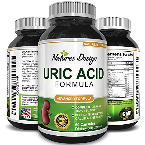 Uric Acid Support Supplement Antioxidant Detox Cleanse Blend