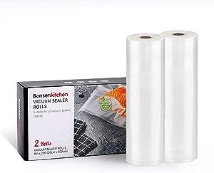 Vacuum Sealer Bags, 2 Roll 8