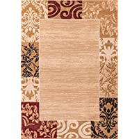 Well Woven Dulcet Damask Ivory Transitional Area Rug 27 X 311